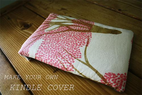 Sewing Secrets: DIY Kindle Cover