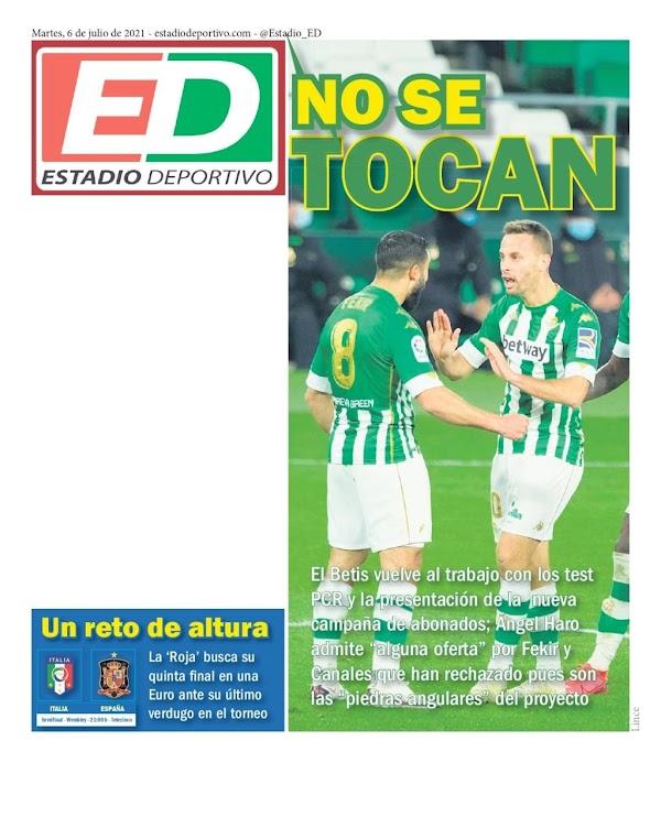 "Betis, Estadio Deportivo: ""No se tocan"""