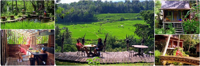 Penginapan Tradisional Indonesia di Ubud