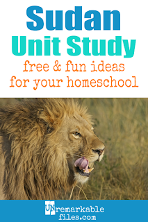 This Sudan and South Sudan unit study is packed with activities, crafts, book lists, and recipes for kids of all ages! Make learning about Sudan and South Sudan in your homeschool even more fun with these free ideas and resources. #sudan #southsudan #homeschool #kids