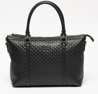 Gucci - Дамска кожена Чанта с монограм