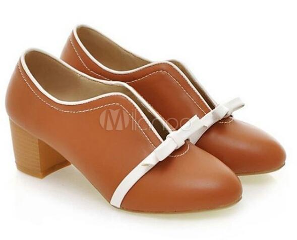 Zapatos Los Medio De La Chica Tacon Originales Zapatos 1001 n6UgXPg