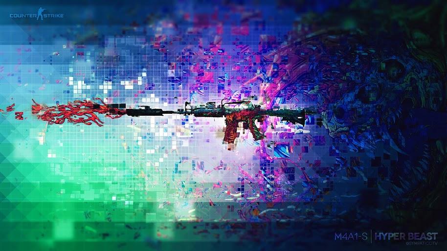 Csgo M4a1 A Hyperbeast Skin 4k 3840x2160 Wallpaper 8