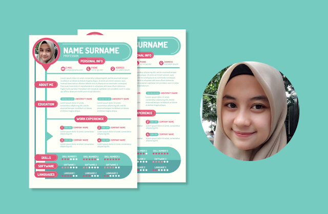 Download CV CDR  Bisa di Edit Gratis