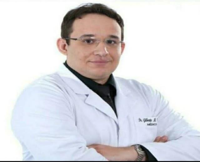 Médico Gilberto Medeiros morre vítima de complicações da covid-19