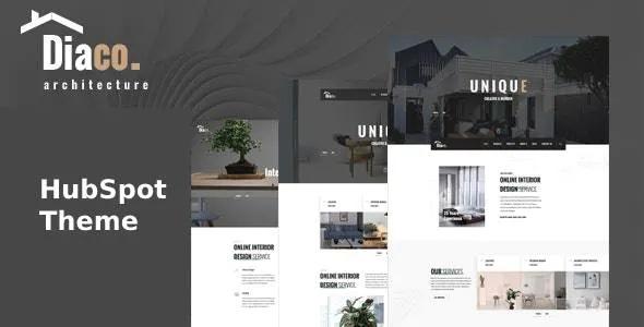 Best Architecture & Interior Design HubSpot Theme
