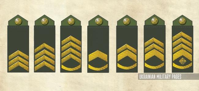 Ukrainian Military Pages - нові сержантські звання законпроект
