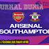 Prediksi Arsenal vs Southampton , Kamis 17 Desember 2020 Pukul 01.00 WIB