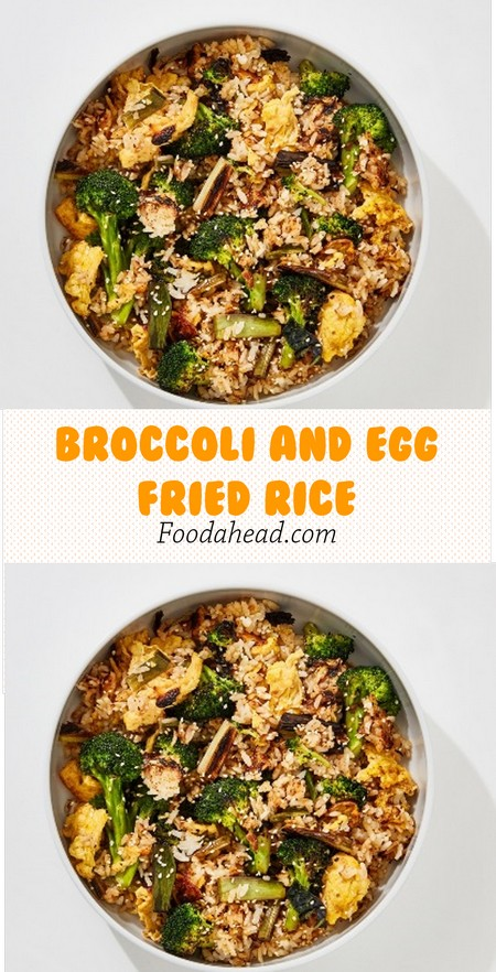 Broccoli and Egg Fried Rice