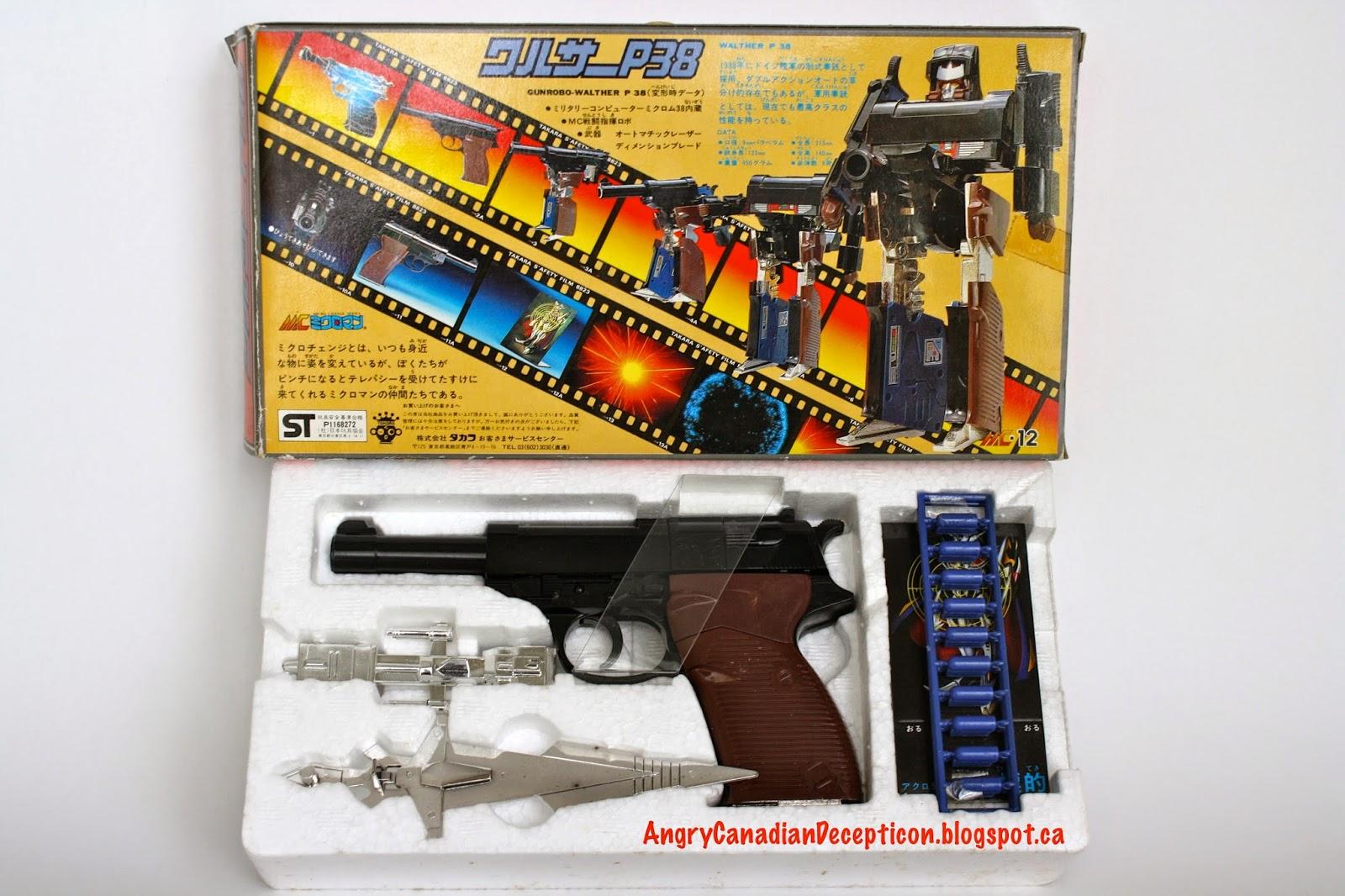 Microman Megatron'S Toy 107