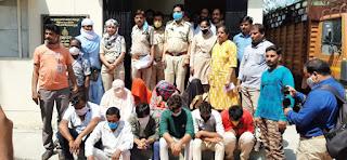 एसटीएफ ने वन्यजीव तस्करी मामले में 10 लोगों को किया गिरफ्तार