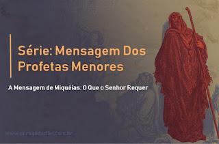 Série: Mensagem Dos Profetas Menores - A Mensagem de Obadias: Apatia Para Com Um Irmão