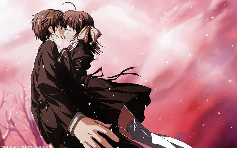 Anime Ini Terbagi Kedalam 2 Season Yaitu Ef A Tale Of Memories Dan Melodies Pertamanya Rilis Pada Tahun 2007 Sedangkan