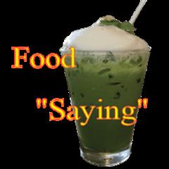 Food saying