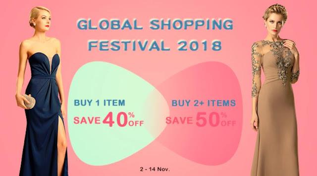 global shopping festival sale