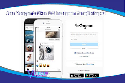 5 Cara Mengembalikan Direct Message (DM) Instagram Yang Terhapus