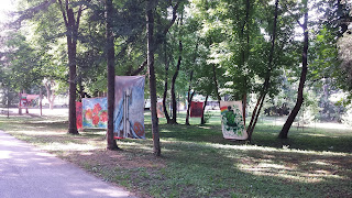 Yambol, Graffiti, Art, Canvas, Walls, Yambol City Park,