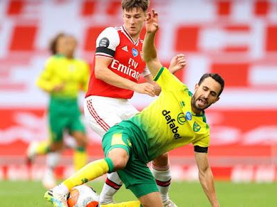 Video Arsenal 4-0 Norwich City: Sai lầm tai hại, đại tiệc 4 bàn