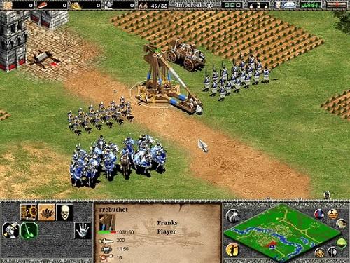 Age of Empires là một trong những trò chơi RTS bom tấn