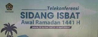 Sidang isbat Ramadhan 1441