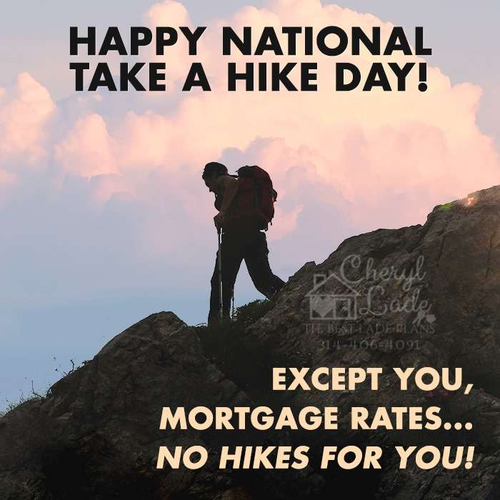 National Take a Hike Day Wishes Awesome Picture