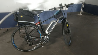 Stolen Bicycle - Carrera Crossfire Electric Bike