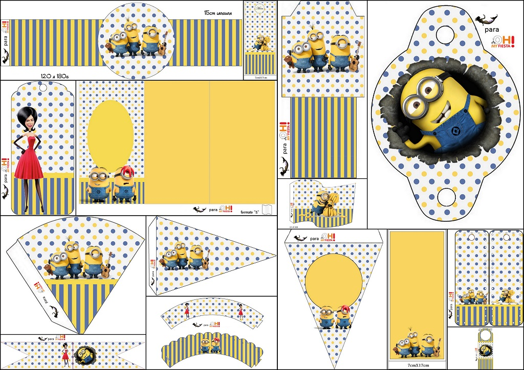 Minions, the Movie: Free Party Printables. | Oh My Fiesta ... - photo #44