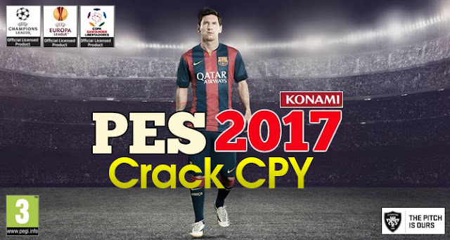 تحميل لعبة Pro Evolution Soccer 2017 بكراك Cpy الكراك