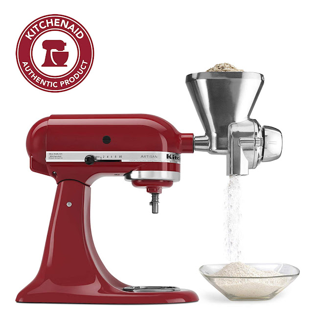 kitchenaid grain mill review