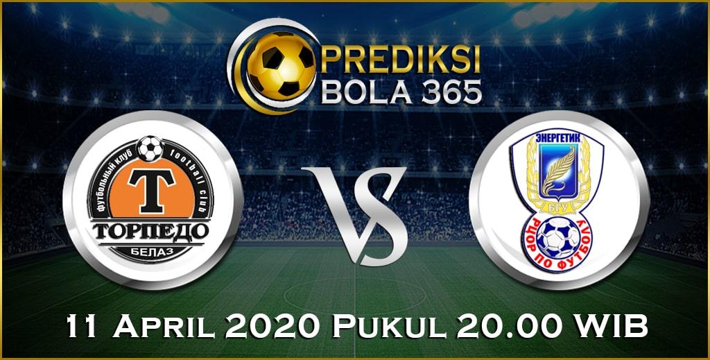 Prediksi Skor Bola Torpedo Zhodino vs Energetik-BGU Minsk 11April 2020