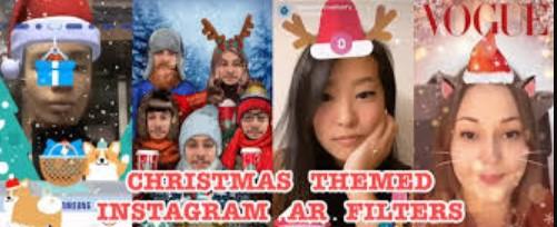 Christmas Filter Instagram