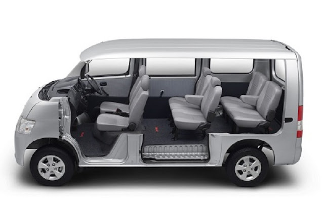 Mobil Yang Paling Nyaman Untuk Mudik Interior Daihatsu Luxio