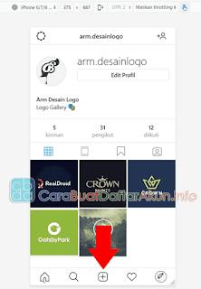 cara upload foto di instagram lewat laptop mozilla firefox