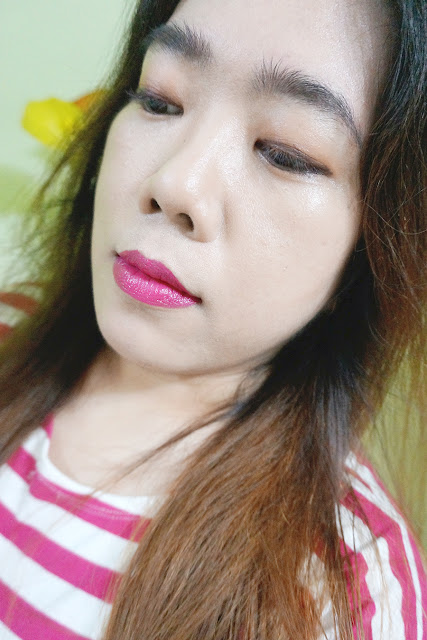 On lips: Revlon Ultra HD Matte Lip Color in 605 HD Obsession