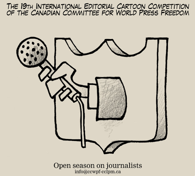 19th World Press Freedom International Editorial Cartoon Competition 2019, Canada