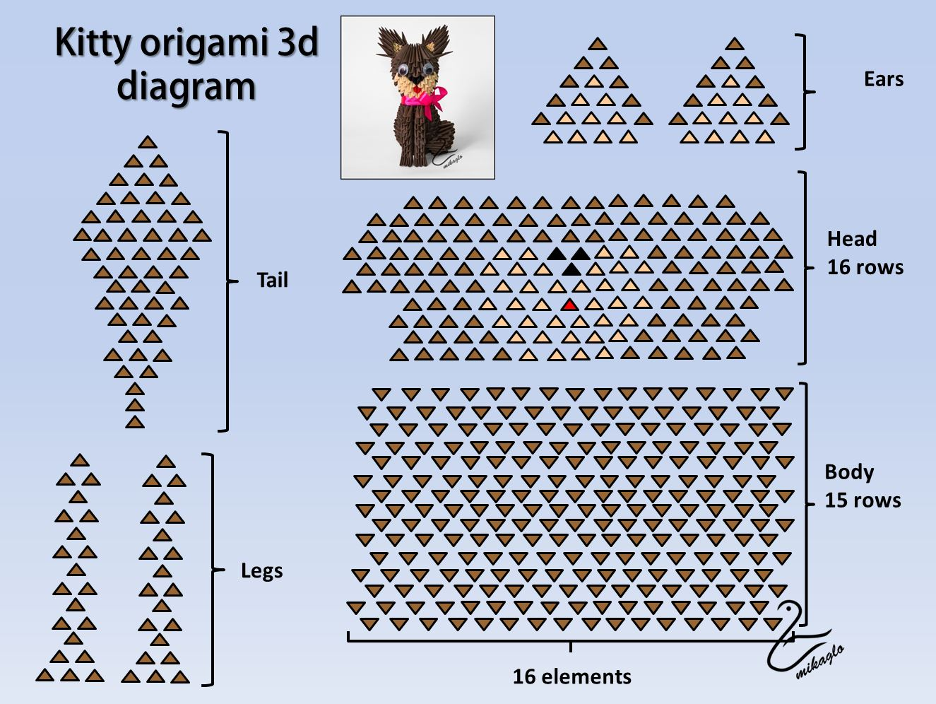 1000+ images about origami on Pinterest | 3d origami ... - photo#39