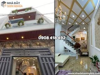 Bán nhà Gò Vấp hẻm 647 Tân Sơn phường 12 - 4x11m đúc 3 tấm đẹp giá 4,97 tỷ (MS 086)