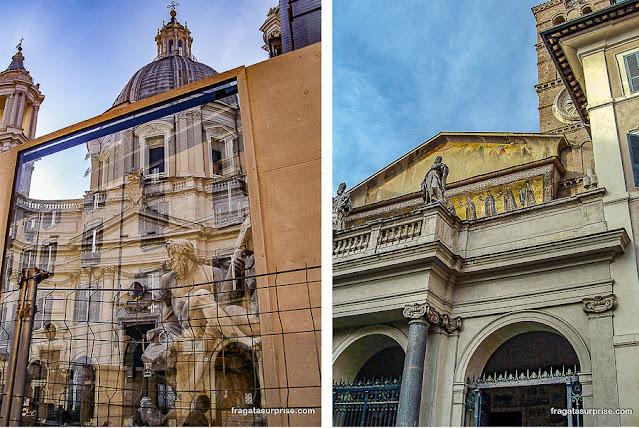 Piazza Navona e Santa Maria in Trastevere, Roma