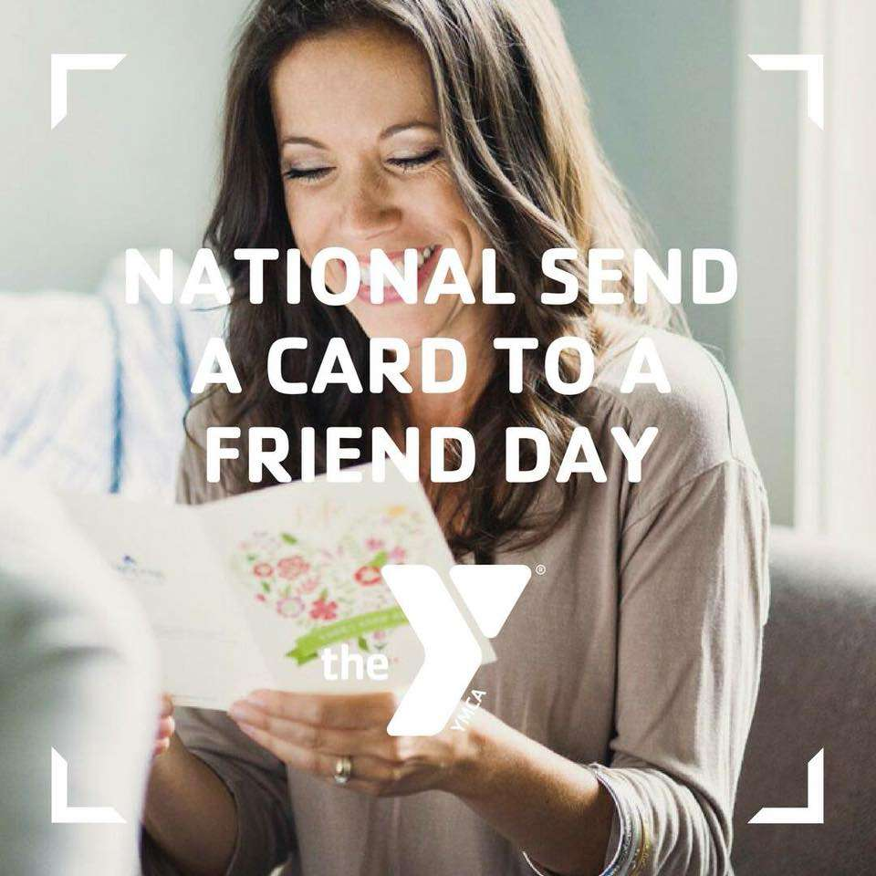National Send a Card to a Friend Day Wishes Unique Image