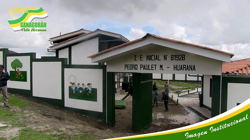 Escuela 81928 PEDRO PAULET MOSTAJO - Huarana