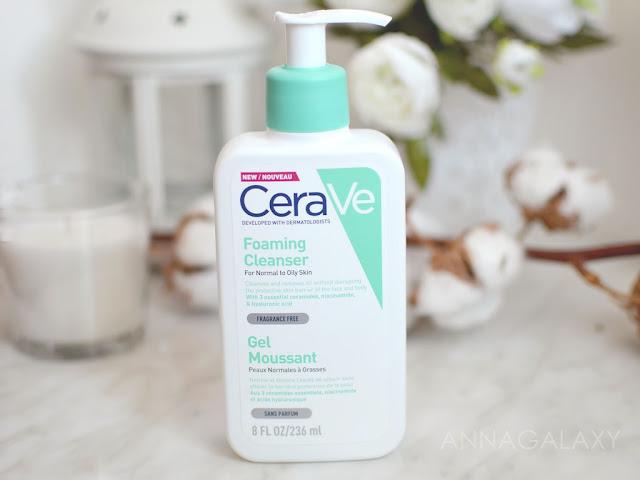 Дозатор Очищающий пенящийся гель CeraVe Foaming Cleanser for Normal to Oily Skin отзывы