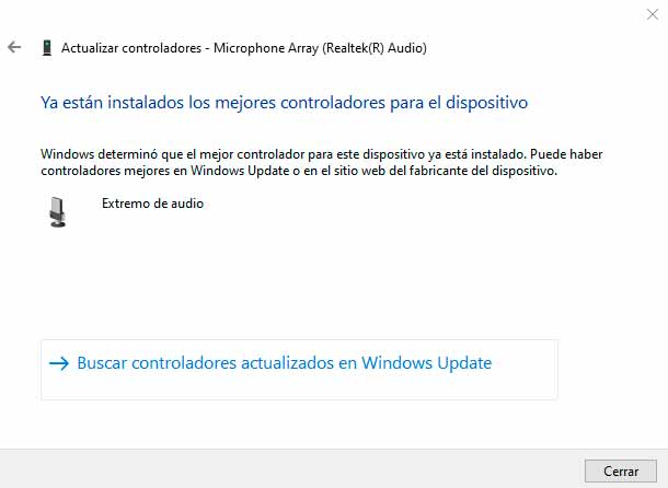 drivers actualizados en windows 10