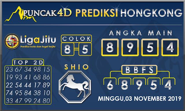 PREDIKSI TOGEL HONGKONG PUNCAK4D 03 NOVEMBER 2019