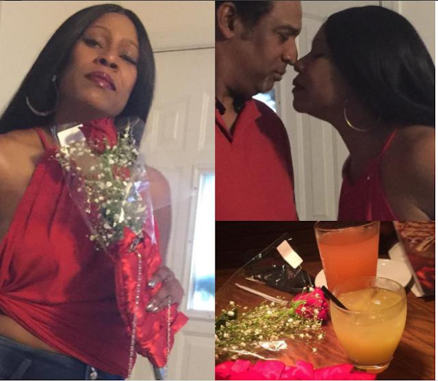 Regina Askia shares kissing photo with her husband