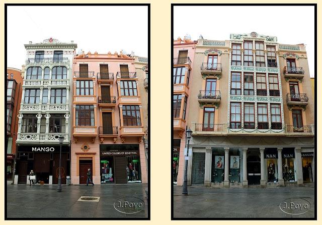 Casa de Gregorio Prada, Casa de Norberto Macho, Modernismo, Zamora