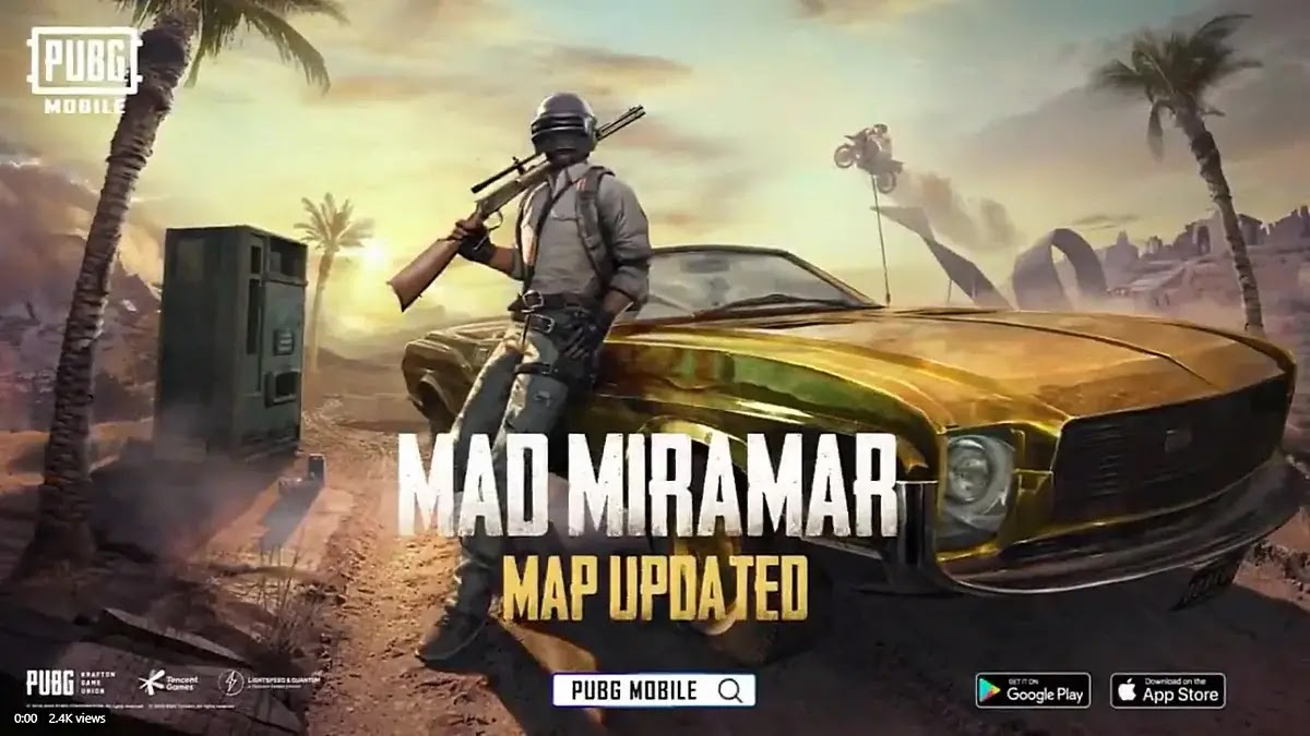 New Version Updated PUBG 0.18.0 2020 1.97 GB For Android And 2.21 GB For IOS Device