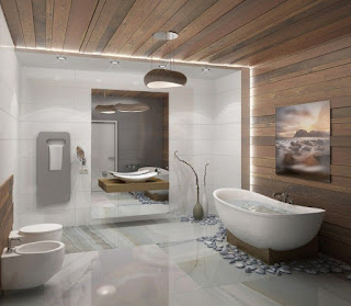 baño moderno y de lujo