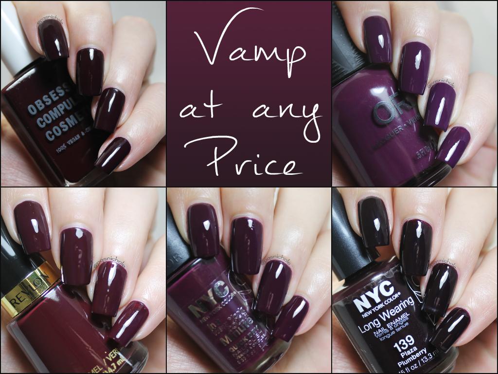 Bedlam Beauty: Vampy Nails on any Budget