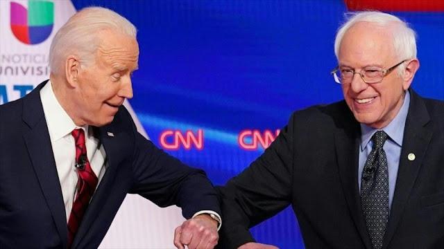 Sanders enseña a Biden cómo derrotar a Trump en las elecciones