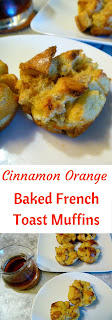 Fresh from the oven these Cinnamon Orange Baked French Toast Muffins will make your breakfast warm and comforting! - Slice of Southern